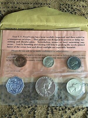 1963 US Mint Coins Silver Proof Coin Set - Flat Pack