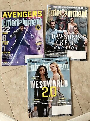 3 X Entertainment Weekly 2018