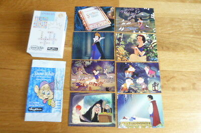 Set Of 90 Cards Skybox Disney Snow White And The Seven Dwarfs + Packet 1995