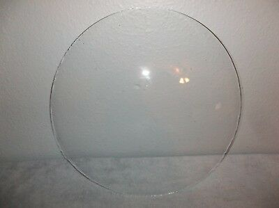 """Vintage 10"""" Round Dome Convex Glass Replacement For Picture Frame, Clock Face"""