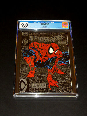 SPIDER-MAN #1 - Silver Edition CGC 9.8 NM/M (1990) Marvel Comics, Variant Cover