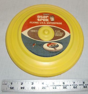 1967 Star Trek Flying U S S Enterprise By Remco Mr Spock   Frisbee L@@K!