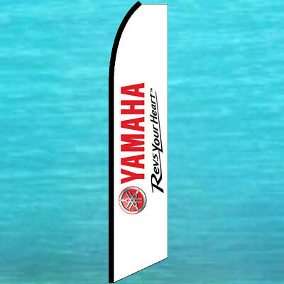 YAMAHA  ADVERTISING BANNER FLAG Feather Swooper Bow Flutter