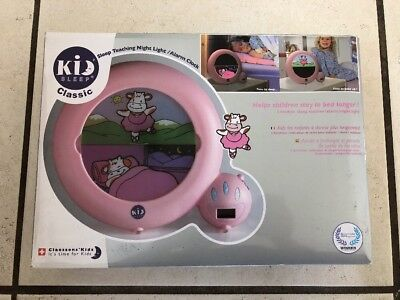 EUC Kid Sleep Classic Clock w/Box - Sleep Teaching Night Light & Alarm Clock