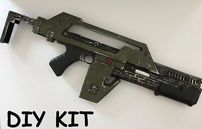 Full Scale USCM M41A Pulse Rifle Prop Kit from Aliens Movie for Cosplay