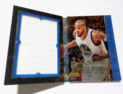 2017 Panini Preferred NBA The Finals Booklet Marreese Speights Warriors 42/99