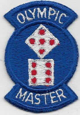 "Rare Original Ds ""11Th Corps, Olympic Master"" Patch - Fully Emb"