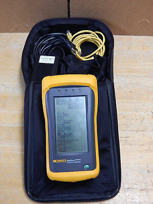Fluke OneTouch Series II 10/100 Network Assistant w/ NEW  Rechargeable Batteries