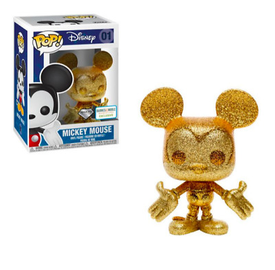 Mickey Mouse Gold Diamond Collection Funko Pop! - Barnes & Noble Exclusive