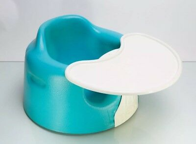 Blue/turquoise Bumbo Baby Floor Seat With Tray