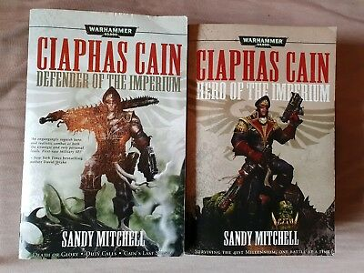 Ciaphas Cain Hero of the Imperium & Defender of the Imperium by S. Mitchell
