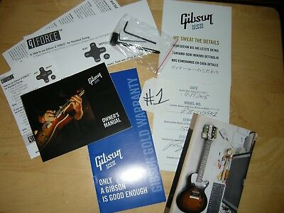 gibson les paul® junior electric guitar plan $24 05 picclick gibson les paul volute gibson guitar les paul junior case candy manual warranty truss wrench g force