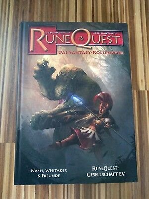 Runequest 6 Regelwerk deutsch (HC)