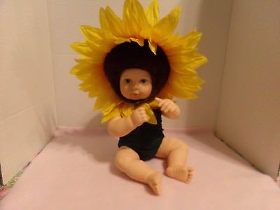 "Ann Geddes Sunflower Doll~Blue Eyes~16""  Long"