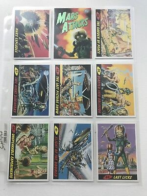 Lot 2 Mars Attacks Playing Cards