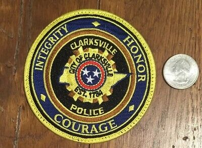 Clarksville TN Tennessee Police / Sheriff Patch