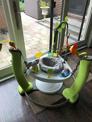 ExerSaucer Jump and Learn Jumper, Jungle Quest  by Evenflo