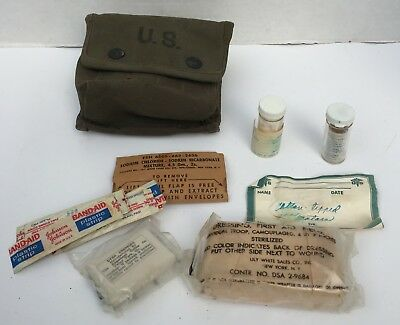US Military WWII First Aid Kit 1945