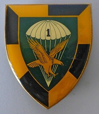 1 PARA BATTALION SOUTH AFRICA AIRBORNE # 1 pre 1982 PARA PARACHUTE ARM BADGE