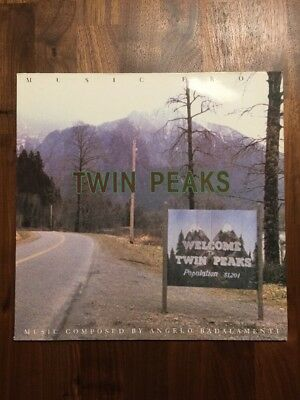 A002   Angelo Badalamenti – Music From Twin Peaks  LP 1990