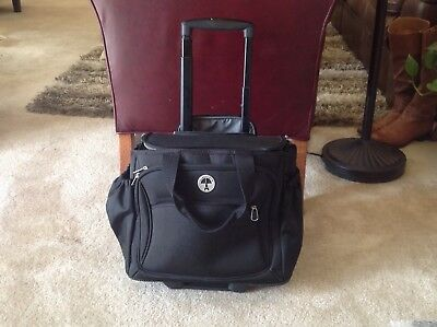 97ccb6a7aa5b Travelpro Walkabout Rolling Wheeled Retractable Handle Suitcase Carry On Bag