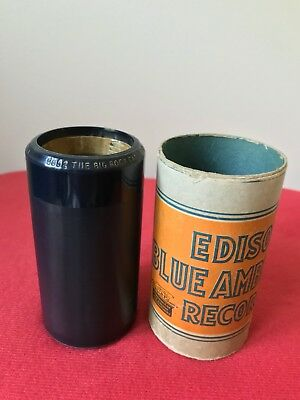 Edison blue amberol cylinder 5652 The Big Rock Candy Mountains by Vernon Dalhart