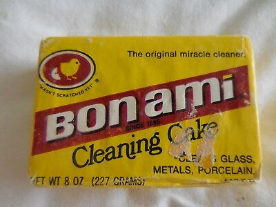 Vintage Bon Ami 8 Ounce Cleansing Bar Original Wrapping #3