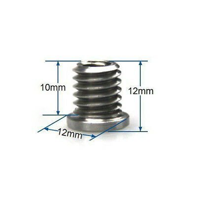 3/8 to 1/4 Converter Screw Thread Adapter for Camera Tripod & Studio Flash Stand