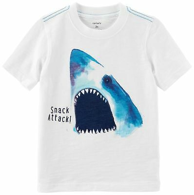 78c59a2712bf CARTERS LITTLE BOYS Shark Attack Jersey T-Shirt -  8.64