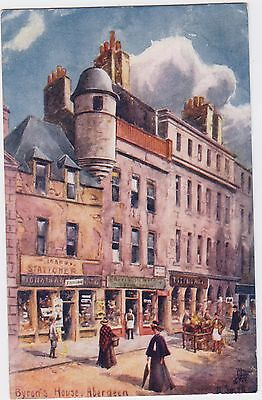 Scotland / Aberdeen/ Byron's House/  Historic Houses/Artist D Small