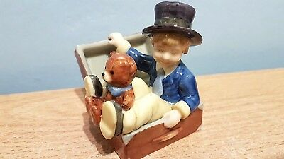 """Beautiful Royal Copenhagen Figure """"The Flying Trunk by H C Anderson."""" Mint Cond."""
