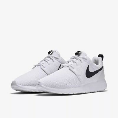 check out 19f8f 8825f 844994-101 Women's Nike Roshe One Lifestyle Shoes White/Black Sizes 6-10