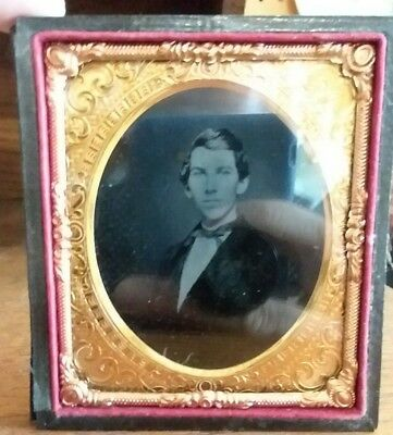 Antique photo of a Civil War Sergeant in the 100th New York Infantry