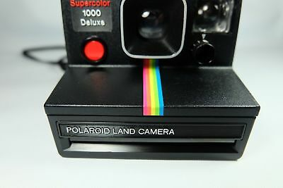 Old Vintage POLAROID SUPERCOLOR 1000 DELUXE LAND Instant Film Camera