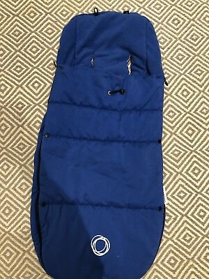 Universal Bugaboo Footmuff Royal Blue In Immaculate Condition