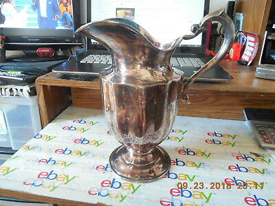 "Beautiful Gorham Newport Silverplated Pitcher 10 1/2 "" Tall."