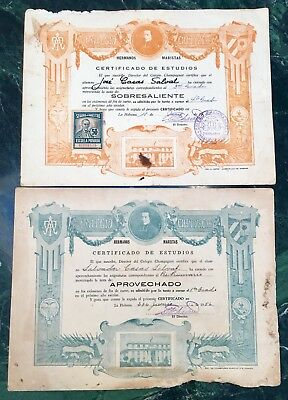 Cuba- Lot Of Vintage Documents-1940's and 1950's