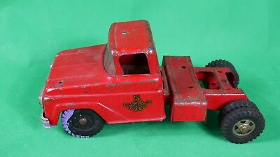 Vintage 1960's Tonka Truck Red No 5 Fire Front Truck Mound Minn