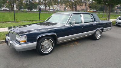 1992 Cadillac Brougham 40,000 miles! NO RESERVE! Only 40,000 miles, ONE OWNER, clean carfax, 100% original, like new!