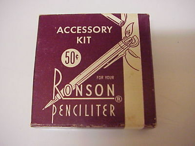 Ronson Penciliter Accessory Kit