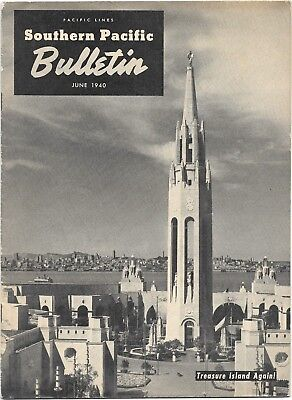 June1940 Ggie Edition Of Southern Pacific Bulletin  17 Pages