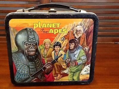 Vintage 1974 Planet of the Apes Lunchbox w/Thermos!