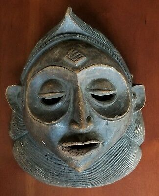 Hand carved African head from Uganda