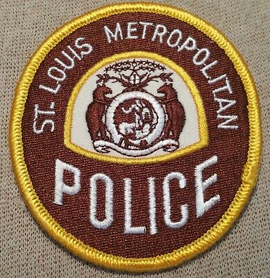 MO St. Louis Missouri Metropolitan Police Patch