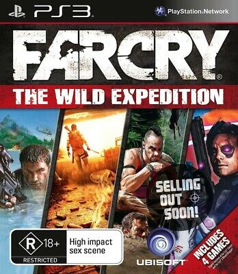 Far Cry The Wild Expedition PS3 ✓RARE ✓NEW ✓OZI Game ✓4 Farcry Games Compilation