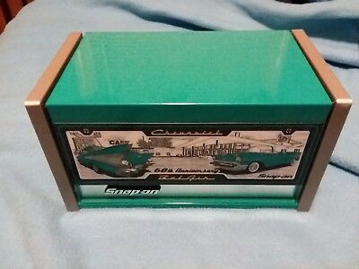 Snap On Tools 1957 Chevrolet Bel Air Teal Miniature Top Chest