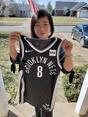Spencer Dinwiddie 2017-18 Brooklyn Nets City Edition Game Worn Used Jersey  w COA 83903ac8a