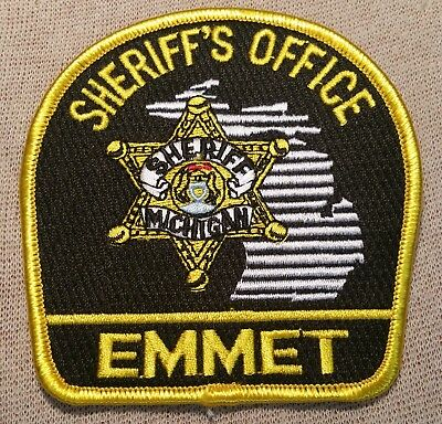MI Emmet County Michigan Sheriff Patch