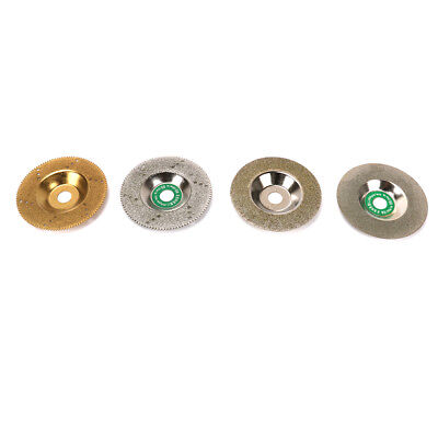 """4"""" Diamond Grinding Wheel Cutting Disc Cutter for Angle Grinder Rotary Tool 4Pcs"""