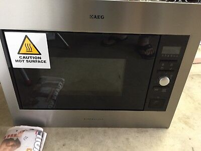 Brand New AEG 26L Built-In Microwave Oven with Grill 900W